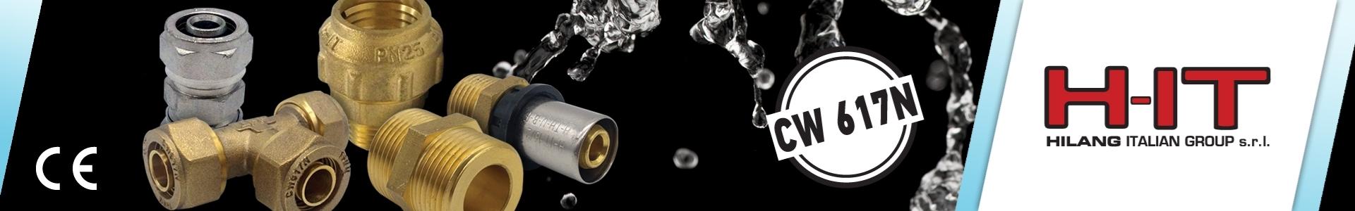 Εικόνα από H-IT Ορειχάλκινα, Μηχανικής Σύσφιξης, Ανοξείδωτα, P.P.R., Πρεσαριστά Εξαρτήματα