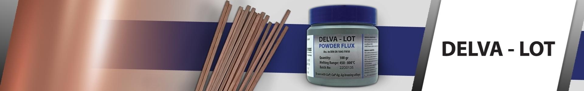 Εικόνα από DELVA-LOT: Χαλκοκόλληση & Aποξειδωτική Σκόνη