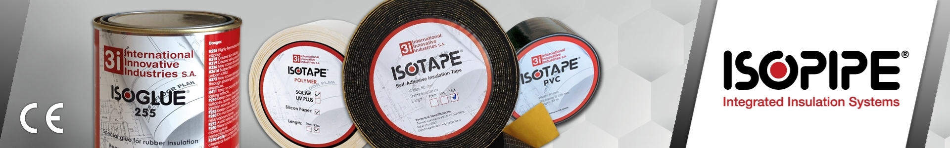 Picture of ISOPIPE Tapes & Glues