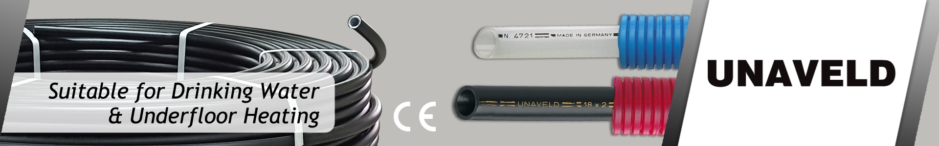 Picture of UNAVELD: Polyethelene, PERT-AL-PERT & 5 Layer Pipes