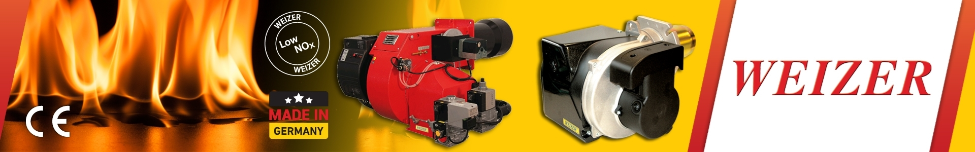 Picture of Weizer: Natural Gas & Oil Gas Burner