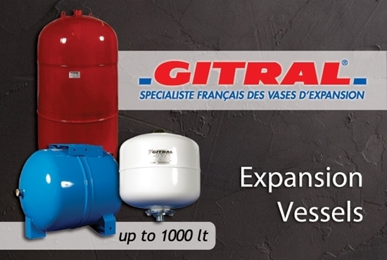 Picture of Gitral: Expansion Vessels