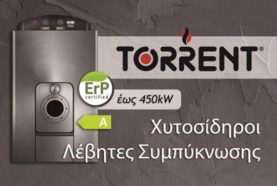 Εικόνα από TORRENT: Χυτοσίδηρος Ατομικός Λέβητας Πετρελαίου Συμπύκνωσης